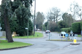 The Junction of The Lower Rd and The Ridgeway