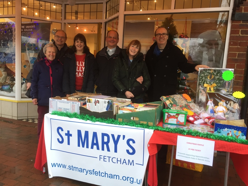 Our Stall at Fetcham Village Day on Saturday 1 December 2018